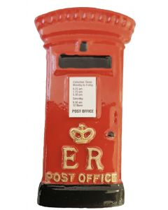 Post Box Ceramic Fridge Magnet by Elgate 13091