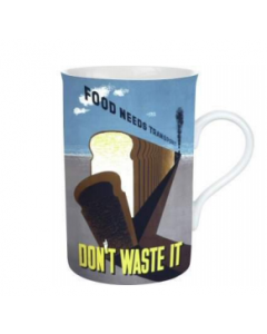 'Food Needs Transport, Don't Waste It' Mug | Robert Opie 29MUG16