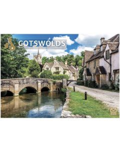 Cotswolds 2021 A4 Calendar by Carousel Calendars 210044