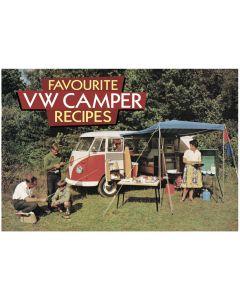 Salmon Favourite VW Camper Recipes Book SA105