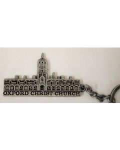 Oxford Christchurch Pewter metal key Ring by Elgate 73378