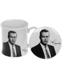 Paul Newman Mug & Coaster Set Fine China by The Leonardo Collection LP31490