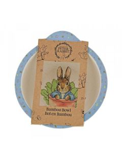 Peter Rabbit Bamboo Bowl by Enesco A28793
