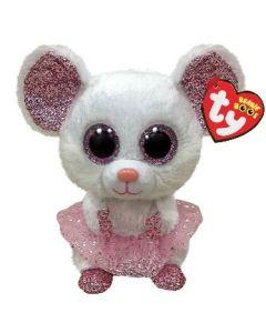 TY Nina Mouse with Tutu Beanie Boo medium 24 cm 36488
