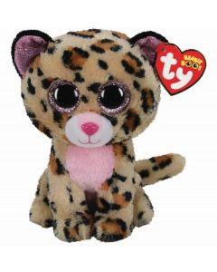 Ty Livvie LeopardBeanie Boo Clip 35248