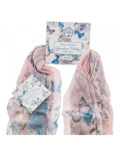 Peter Rabbit Garden Party Scarf (Pink) by Enesco A29598