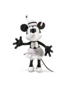 354649 Disney Steamboat Willie - Minnie Mouse Trevira Velvet 38cm