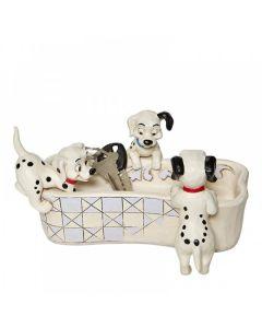Puppy Bowl - 101 Dalmatians Bone Shaped Dish6008060 by Disney Enesco