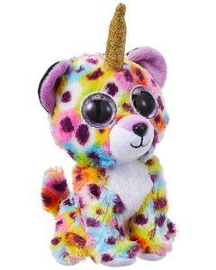 TY Beanie Boo Giselle Leopard with horn Plush 15cm 36284