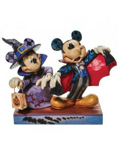 Terrifying Trick-or-Treaters - Mickey and Minnie as Vampires 6008989