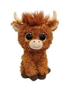 TY Beanie Boo Angus Highland Cow Plush 17cm 36659
