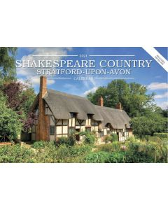 Shakespeare Country, Stratford-Upon-Avon 2021 A5 Calendar by Carousel Calendars