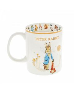 Peter Rabbit with Pocket Handkerchief Special Edition Mug by Enesco A30254