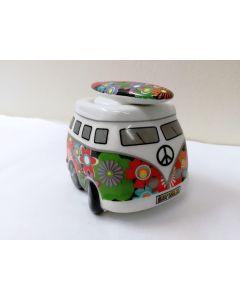 37038 Moonflower Campervan Egg Cup and Salt Set