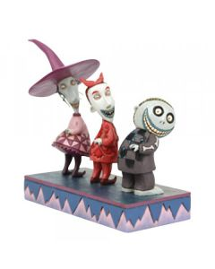 Up to No Good - Lock, Shock and Barrel Figurine6008993