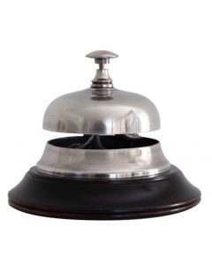 Authentic Models Sailor's Inn Desk Bell, Silver AC100S