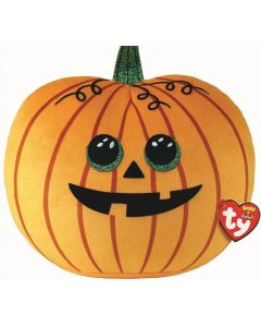 Seeds Pumpkin Halloween Squish-a-boo by TY 14 inches 39211