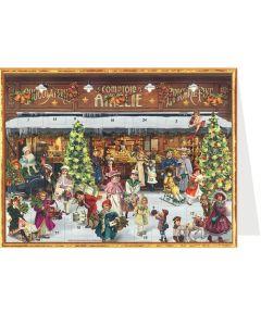 Richard Sellmer Postcard Advent Calendar Victorian Scene 40130
