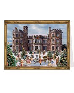 Richard Sellmer Postcard Advent Calendar Victorian Snowfall Scene 40135