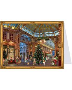 Richard Sellmer Postcard Advent Calendar Victorian Festive Scene 40139