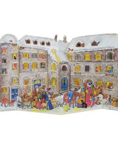 Richard Sellmer 3D Traditional Advent Calendar At The Castle 553