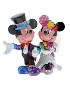 Mickey and Minnie Mouse WeddingFigurine Disney by Enesco 4058179