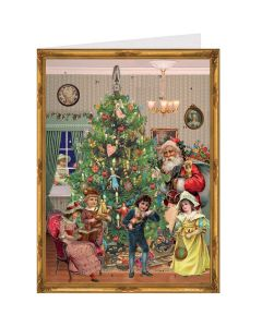 Richard Sellmer Postcard Advent Calendar Victorian Festive Scene 40769