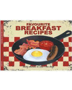 Salmon Favourite Breakfast Recipes Book SA027