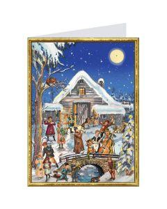 Richard Sellmer Postcard Advent Calendar Fun and Music 413