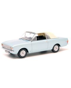 Oxford Diecast Ford Cortina MkII Crayford Convertible Blue Mink (Roof Up) 43CCC001A