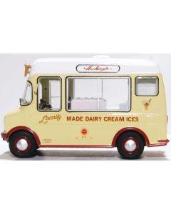 Oxford Diecast Bedford CF Ice Cream Van Morrison Hockings 43CF002