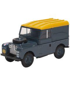 "Oxford Diecast Land Rover Series I 88"" Hard Top RAF 43LAN188021"