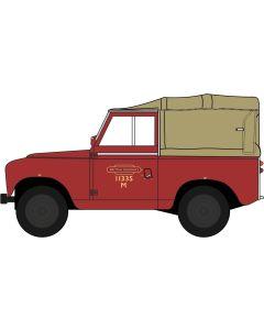 43LR2S002 Land Rover Series II SWB Canvas British Rail by Oxford diecast