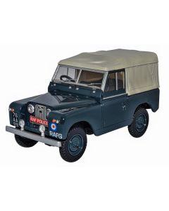 Oxford Diecast Land Rover Series11 SWB Canvas RAF Police 43LR2S007