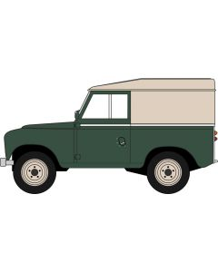 Oxford Diecast Land Rover Series III SWB Hard Top Bronze Green 43LR3S005