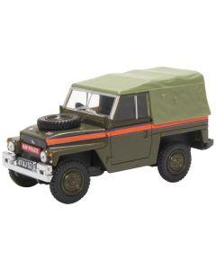 Oxford Diecast Land Rover Lightweight Canvas RAF Police 43LRL007