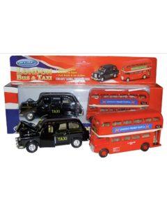 Bus & Taxi Friction Set (London) by Thomas Benacci 398
