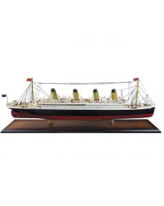 Authentic Models Titanic White Star Ocean Liner Wooden Model AS083