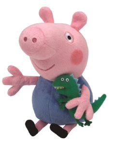 TY George from Peppa Pig Beanie Boo 18cm 46130