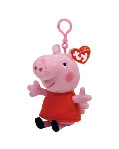 Peppa Pig TY Beanie Keychain by TY 13cm 46131
