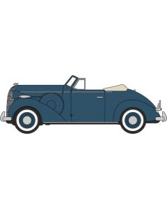 Oxford Diecast Musketeer Blue Buick Special Convertible 1936 87BS36005