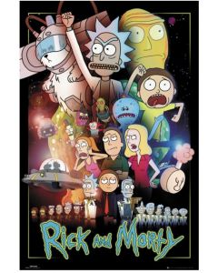 Rick and Morty Wars Maxi Poster by GB Eye FP4576.
