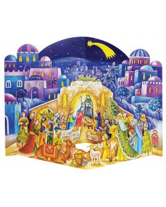 Richard Sellmer 3D Traditional Advent Calendar Visit to the Stable 572