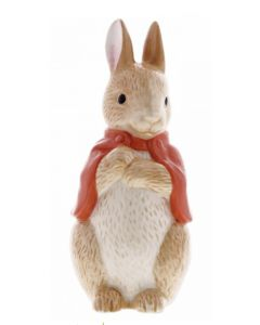 Flopsy Bunny Sculpted Ceramic Money Bank by Enesco A29293