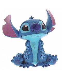 """Big Trouble"" Stitch Statement Figurine 6000971 by Jim Shore for Disney Enesco"