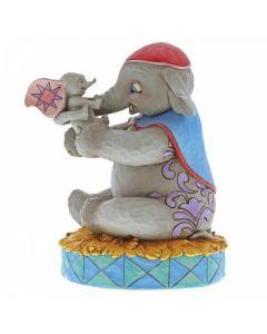 A Mother's Unconditional Love Mrs Jumbo and Dumbo Figurine 6000973 by Disney Enesco