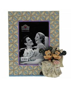 Mickey and Minnie Mouse Wedding Frame6001368 by Disney Enesco