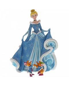 Christmas Cinderella Figurine by Jim Shore 6002181 Disney Enesco