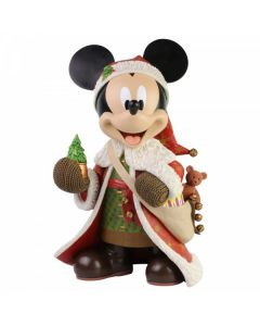 Christmas Mickey Mouse Statement Figurine6003771 Disney Enesco