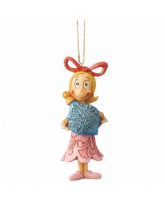 Grinch Cindy Lou with Ball Ornament Hanging Ornament Jim Shore & Enesco 6004068